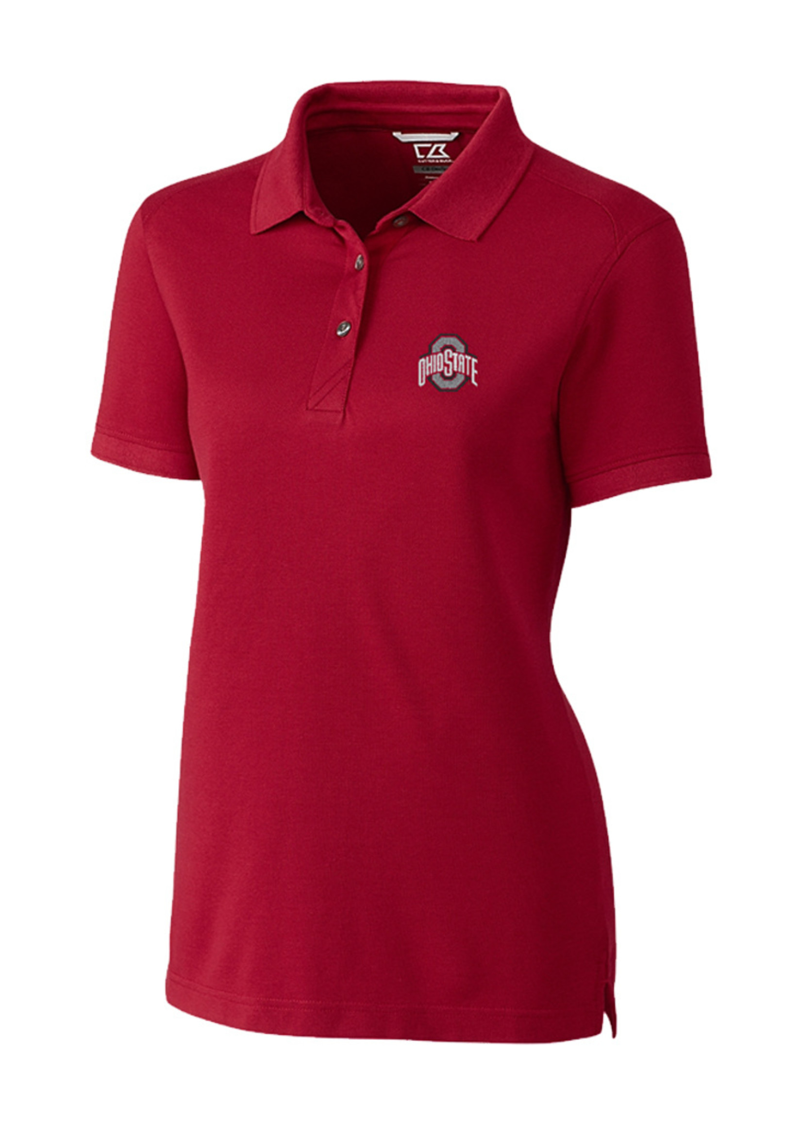 Cutter & Buck Ohio State University Women's Cotton Advantage Polo
