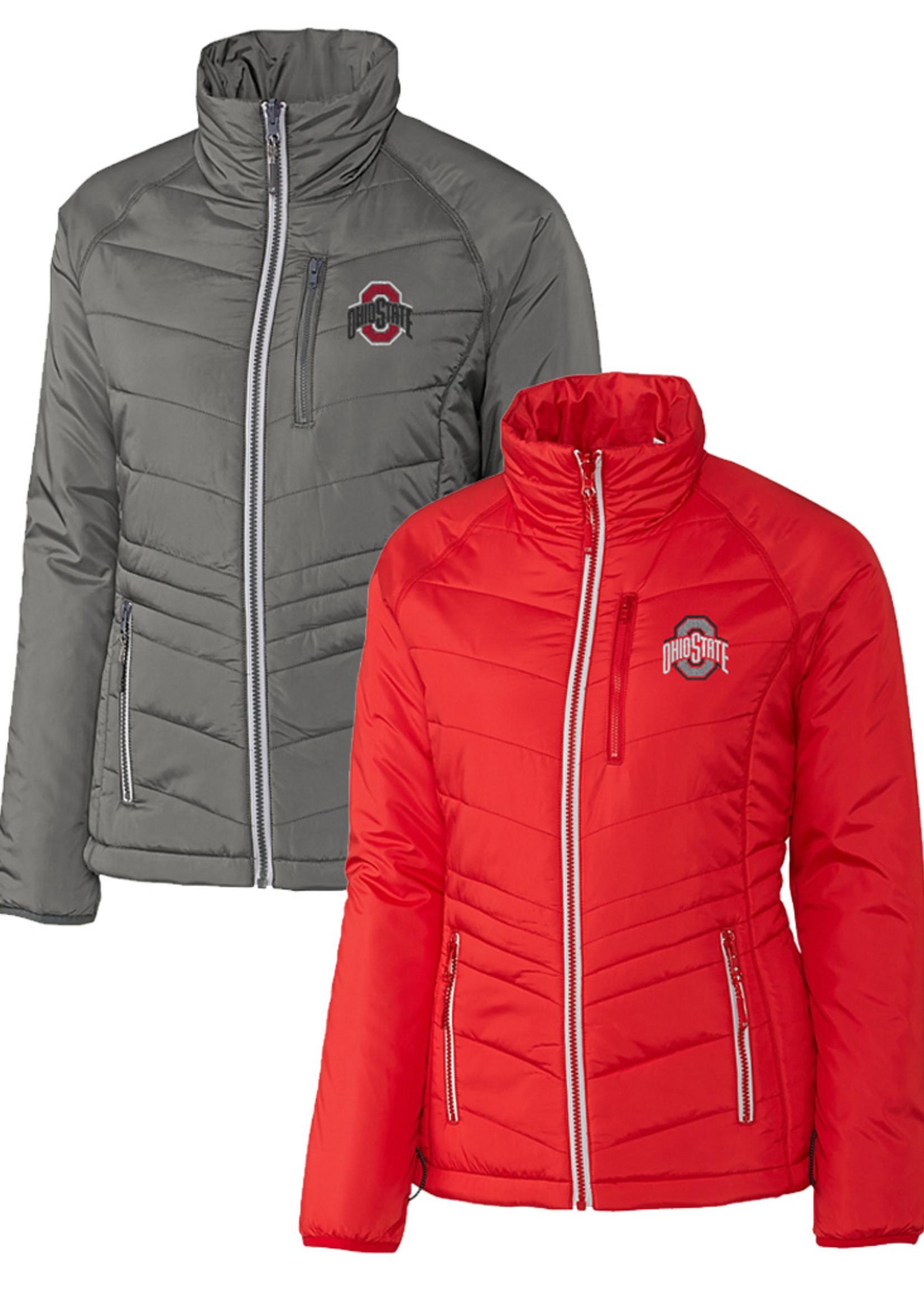 Cutter & Buck Ohio State University Women's Barlow Pass Jacket