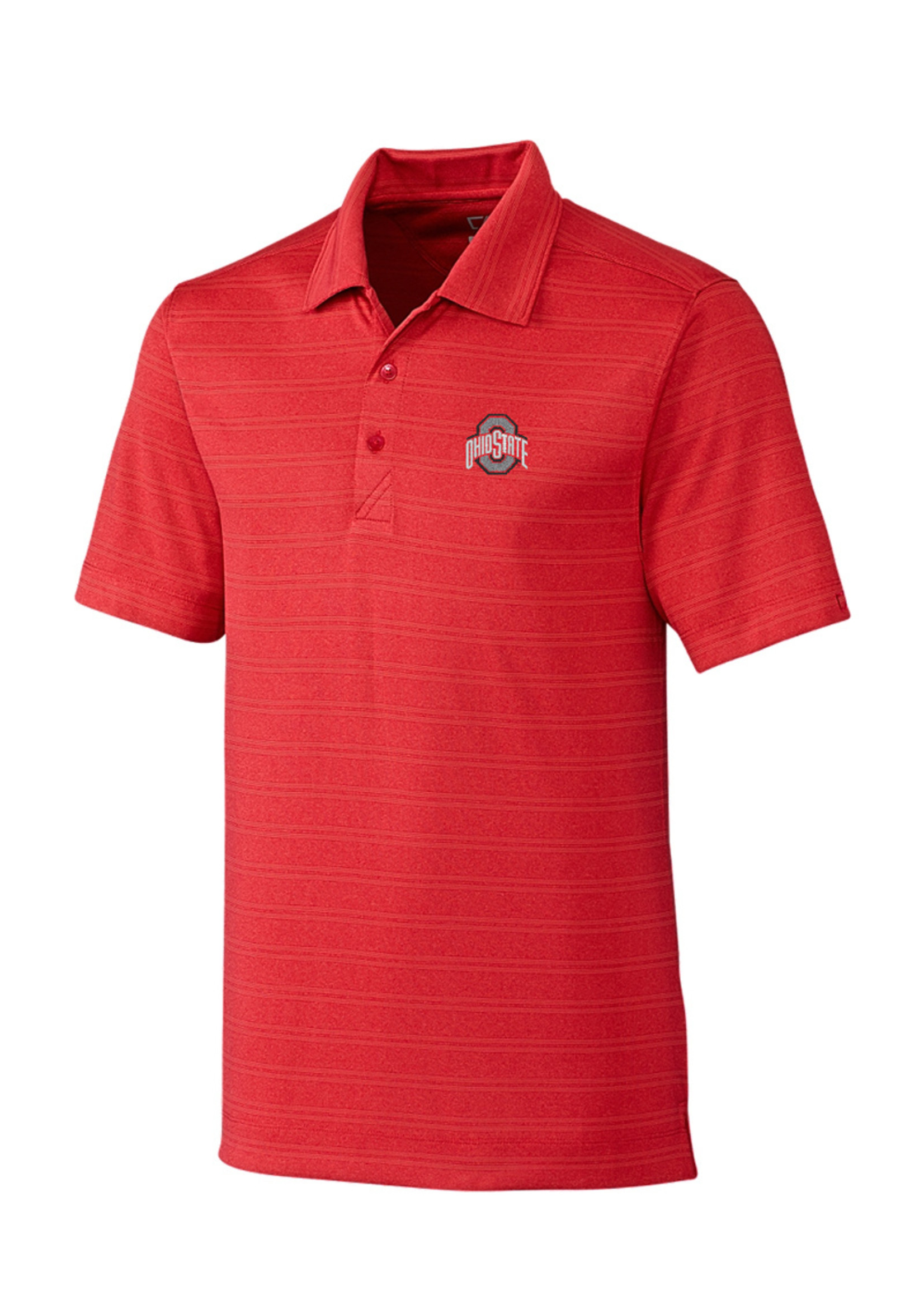 Cutter & Buck Ohio State University Melange Stripe Polo