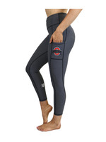 "Bend The Ohio State University ""Victory"" Cell Phone Pocket Legging/Charcoal"