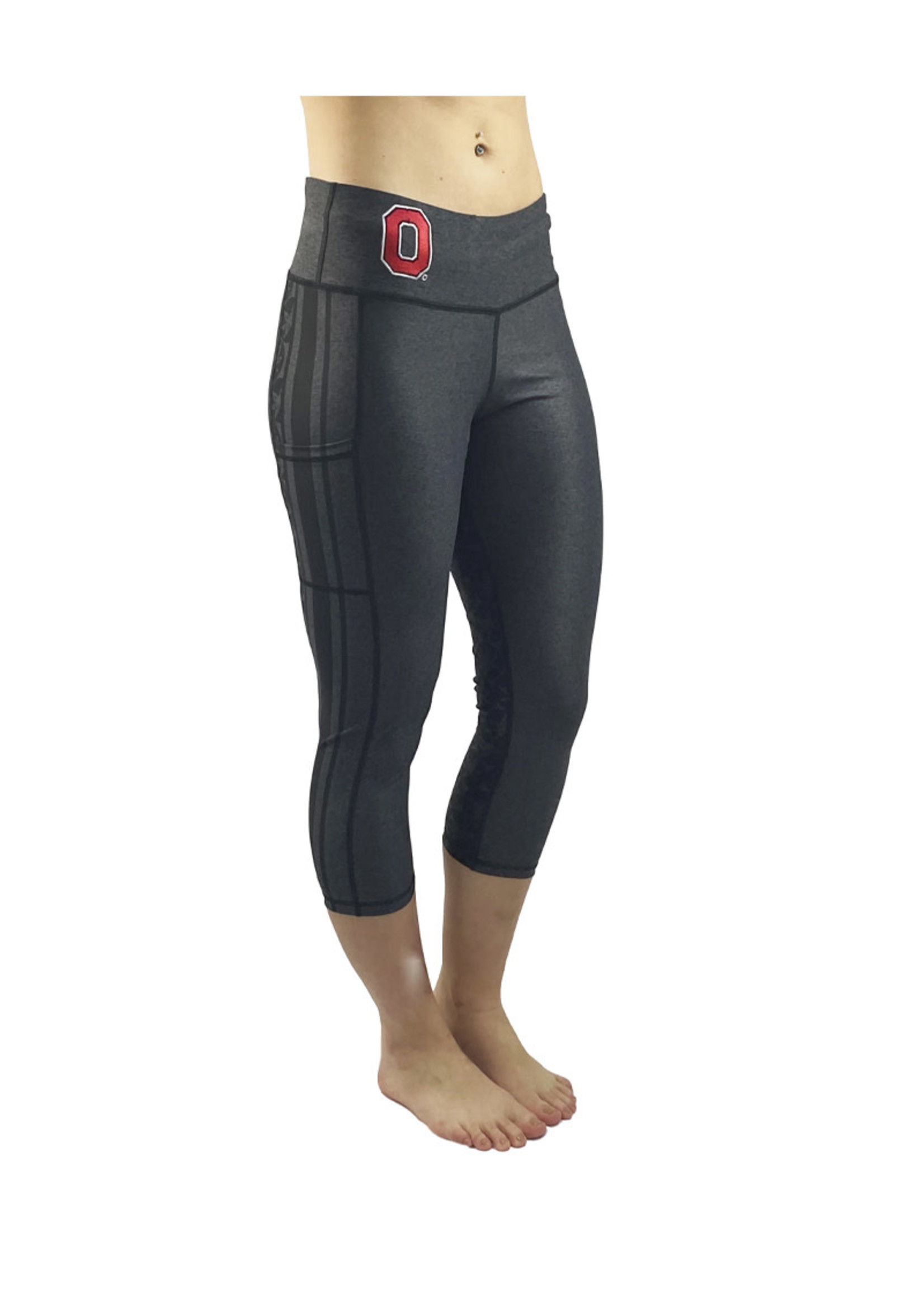 "Bend Ohio State Buckeyes The ""Vision"" Game Day CROP/Black"