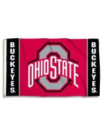 Ohio State Buckeyes Flag 3' x 5'