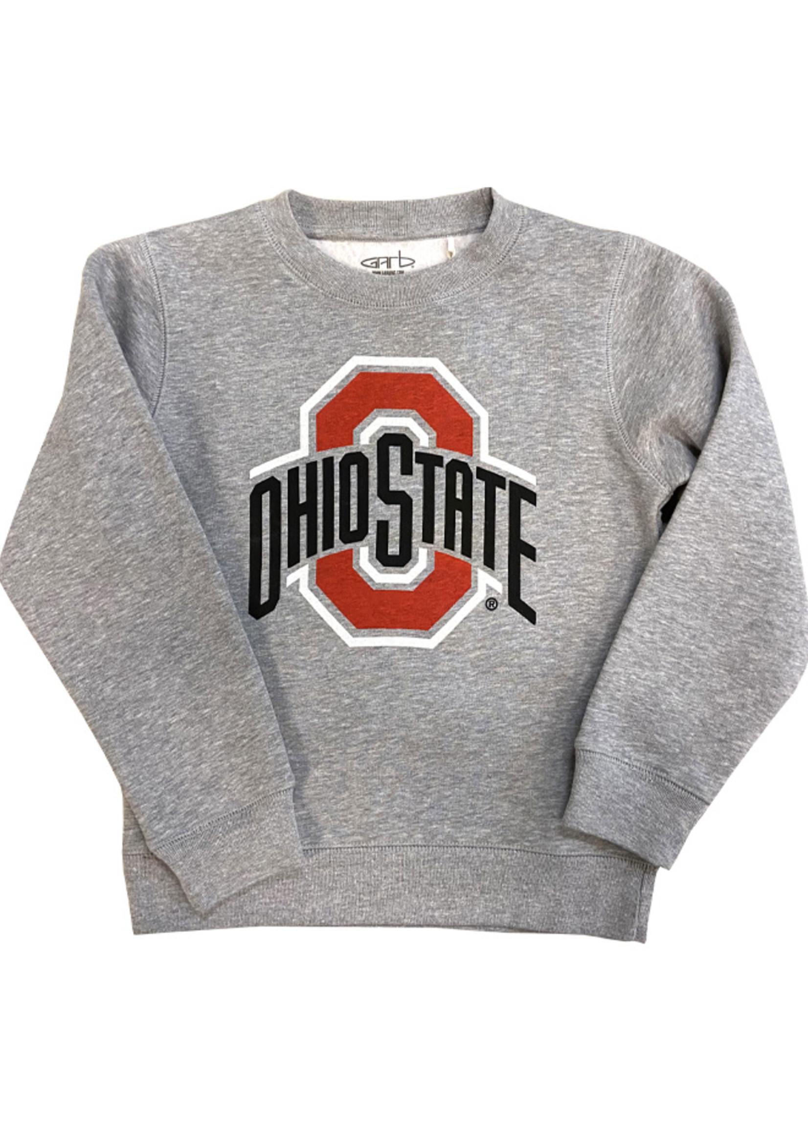 Ohio State Buckeyes Kids Athletic O Crewneck Sweatshirt