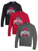 Champion Ohio State Buckeyes Campus Powerblend Pullover Sweatshirt