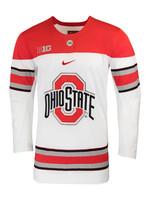 Ohio State Buckeyes Nike Replica College Hockey Jersey
