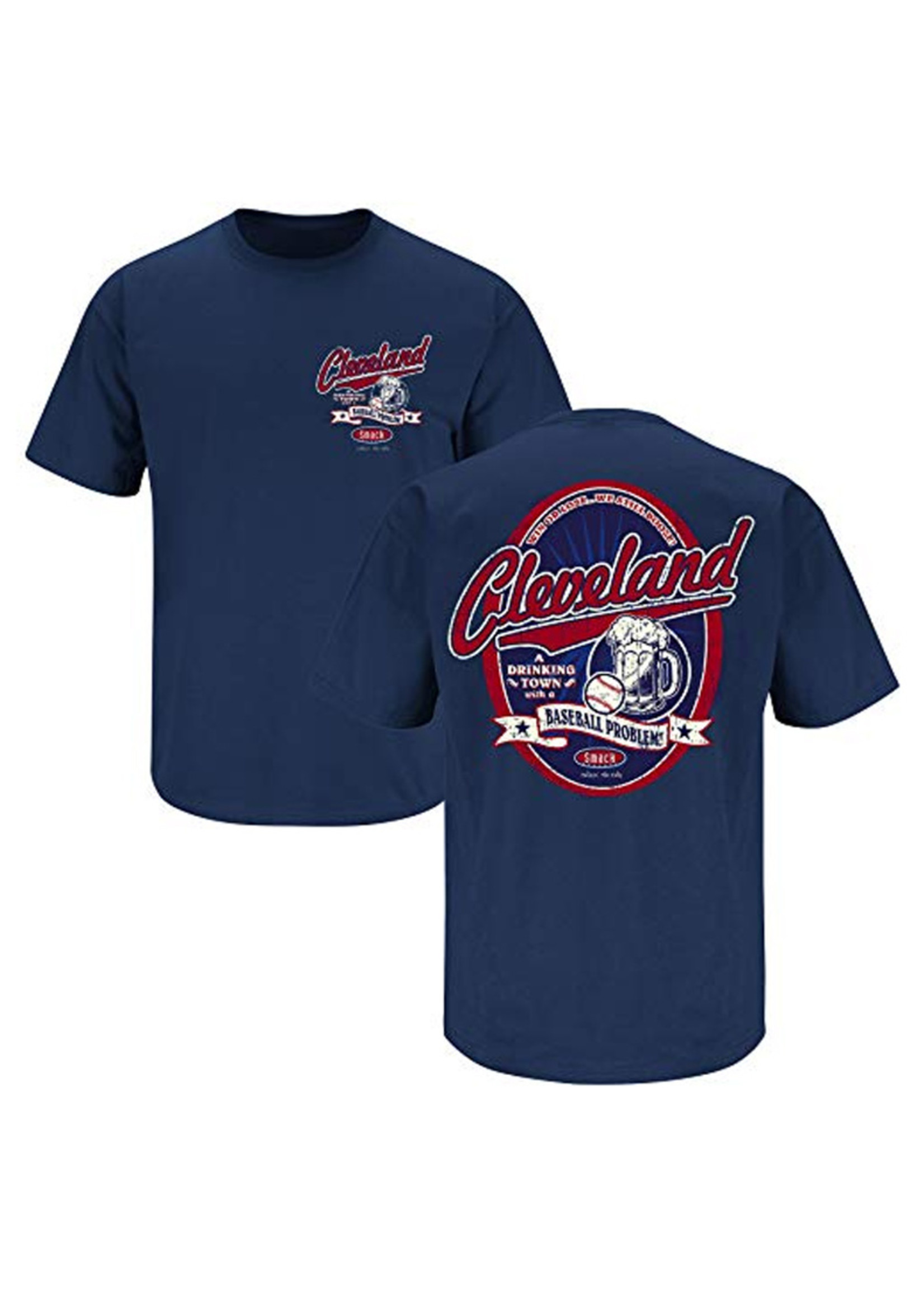 Cleveland a Drinking Town with a Baseball Problem Shirt