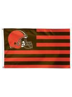 Wincraft Cleveland Browns Patriotic Americana Flag -  3' X 5