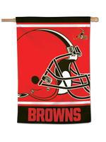 "Wincraft Cleveland Browns Mega Logo Vertical Flag - 28"" X 40"""
