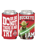 Wincraft Ohio State Buckeyes - Star Wars Yoda Can Cooler - 12oz