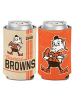 Wincraft Cleveland Browns Vintage Elf Can Cooler -12oz