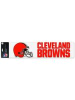 "Wincraft Cleveland Browns Decal 4"" x 17"""