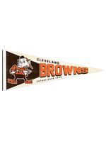 Wincraft Cleveland Browns Retro Elf Logo Pennant