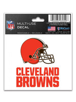 Wincraft Cleveland Browns Multi Use Decal - 8x8