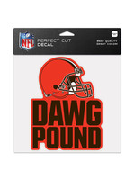 Wincraft Cleveland Browns Dawg Pound Decal - 4x4