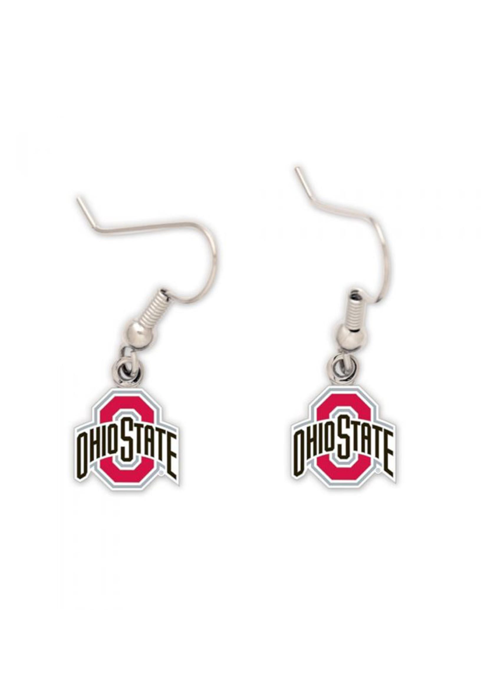 Wincraft Ohio State Buckeyes Athletic O Earrings