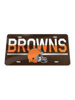 Wincraft Cleveland Browns Acrylic Duo Logo Car License Plate