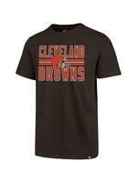 Cleveland Browns Stripe Helmet T-Shirt
