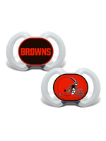 Cleveland Browns Pacifier 2 Pack