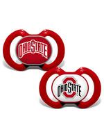 Ohio State Buckeyes Pacifier 2 Pack