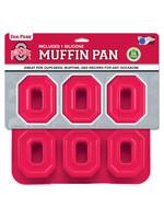 Ohio State Buckeyes Muffin Pan
