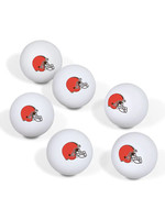 Wincraft Cleveland Browns Ping Pong Ball 6-Pack