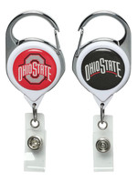 Wincraft Ohio State Buckeyes 2-Sided Logo Premium Badge Reel
