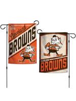 Wincraft Cleveland Browns Retro Elf Double Sided Garden Flag