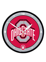 Wincraft Ohio State Buckeyes 12.75in Round Wall Clock