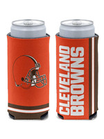 Wincraft Cleveland Browns 2-Sided Slim Can Cooler - 12oz