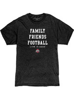 Ohio State Buckeyes  Family - Friends - Football T-Shirt