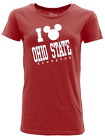 Ohio State Buckeyes Women's Mickey Mouse T-Shirt