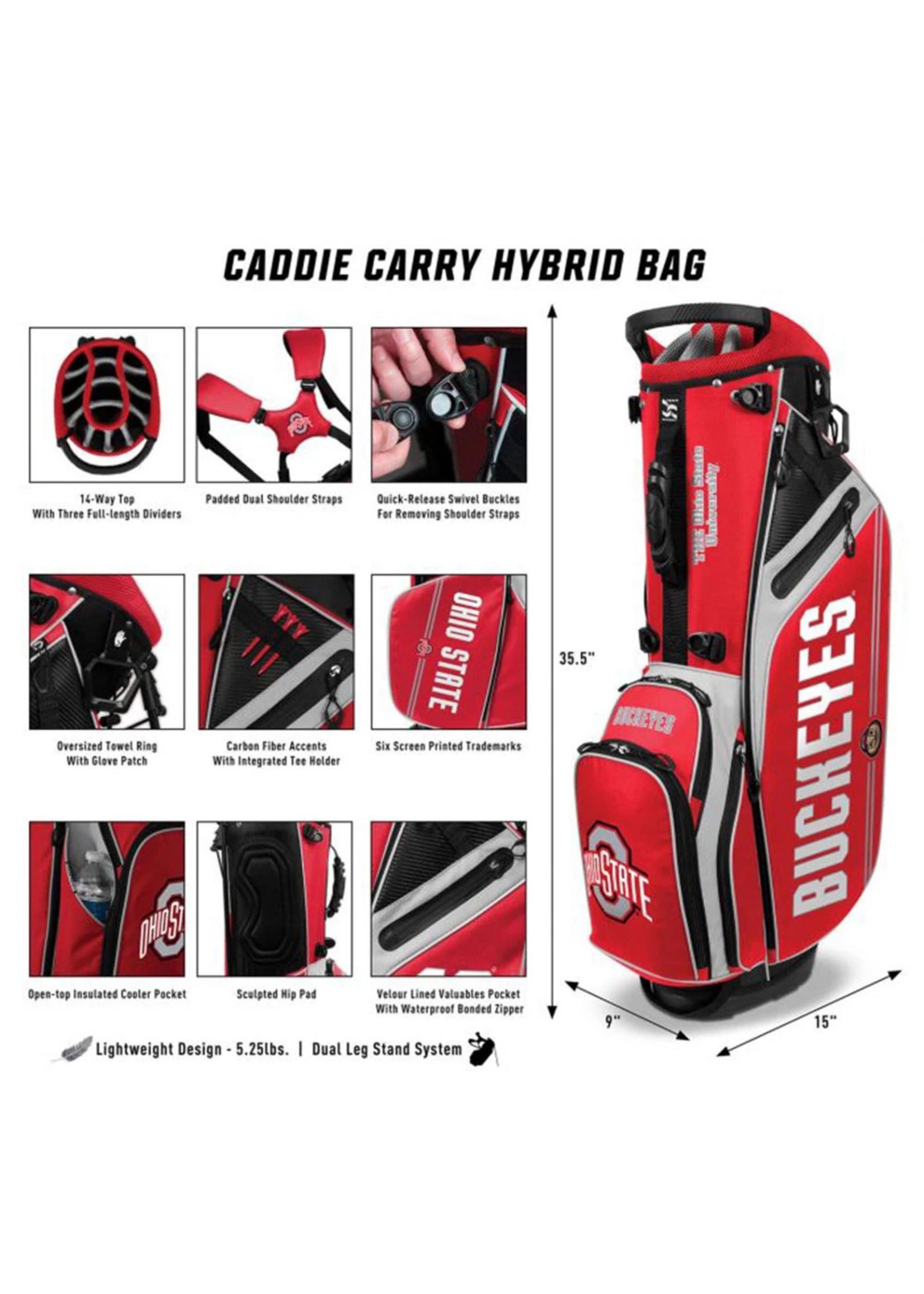 Ohio State Buckeyes Caddie Carry Hybrid Bag