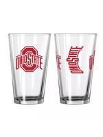 Ohio State Buckeyes Gameday Pint Glass - 16oz