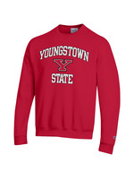 Champion Youngstown State Red Logo Crew