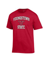 Champion Youngstown State Red Logo Tee