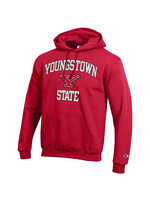 Champion Youngstown State Red Logo Hoodie
