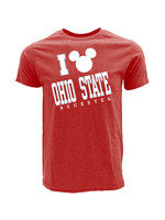 Ohio State Buckeyes Men's Mickey Mouse T-Shirt
