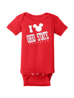 Ohio State Buckeyes Infant Mickey Mouse Creeper