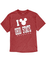 Ohio State Buckeyes Youth Mickey Mouse T-Shirt
