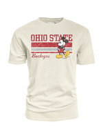 Ohio State Buckeyes Mickey Mouse Ivory Tee