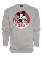 Ohio State Buckeyes 1870 Mickey Mouse Fleece Crew