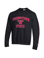 Champion Youngstown State University Black Crew Sweatshirt