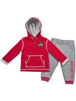 Ohio State Buckeyes Infant Pullover Hoodie & Pants Set