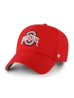 Ohio State Buckeyes Athletic O MVP Adjustable Hat