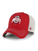 Ohio State Buckeyes Trawler Adjustable Red Hat
