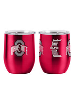 Ohio State Buckeyes Travel Tumbler 16oz Ultra Curved Beverage