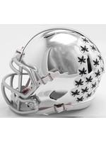 Ohio State Buckeyes Chrome Speed Mini Helmet
