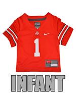 Nike Ohio State Buckeyes Infant #1 Nike Replica Jersey