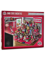 Ohio State Buckeyes 18'' x 24'' A Real Nailbiter 500-Piece Puzzle