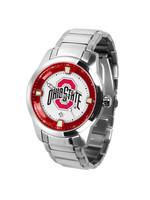 Ohio State Buckeyes - Men's Titan Steel Watch